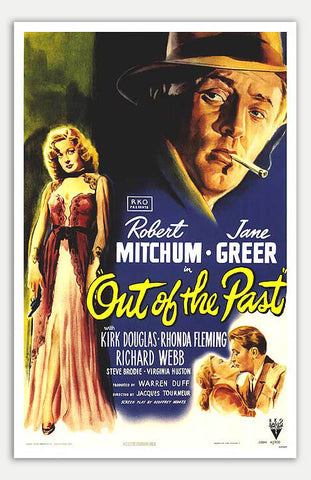 "Out Of The Past - 11"" x 17""  Movie Poster"