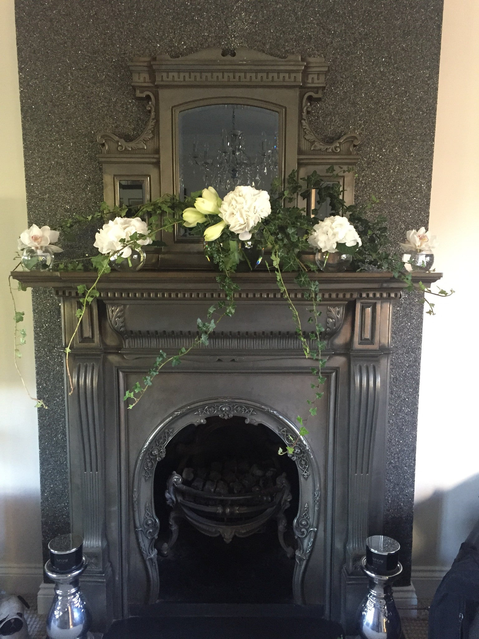 Mantle Piece Decoration.