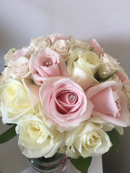 Pastel Rose Bridal Bouquet