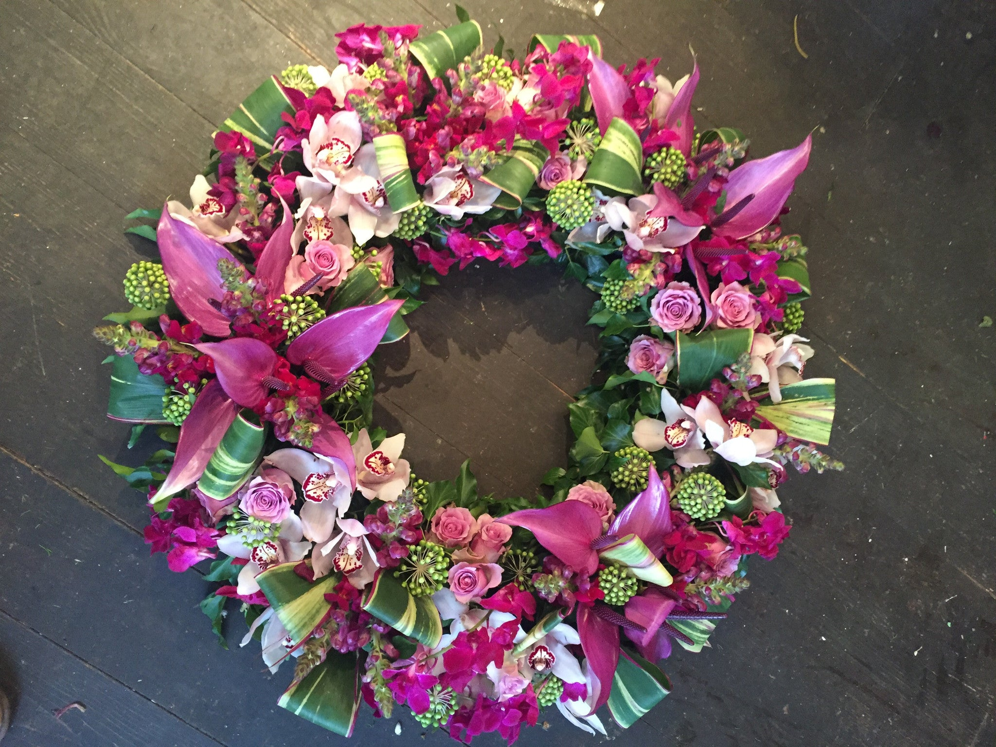 Extra Large Open Wreath