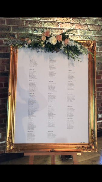 60.Wedding Table Plan