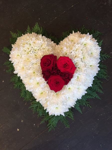 Chrysanthemum and Rose Heart