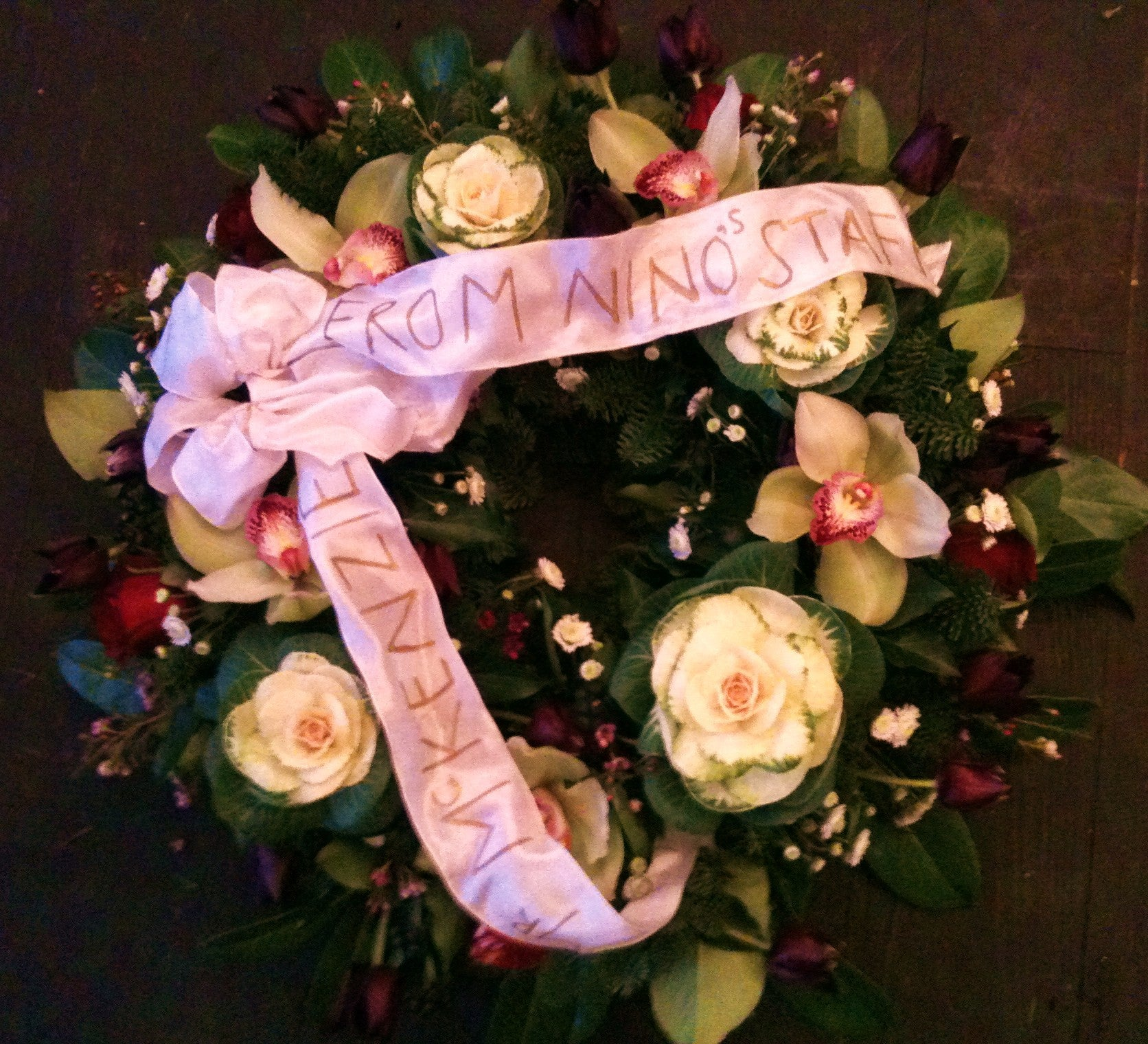 108 Wreath ( add on you own message..)