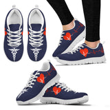 Nurse Heartbeat Sneakers