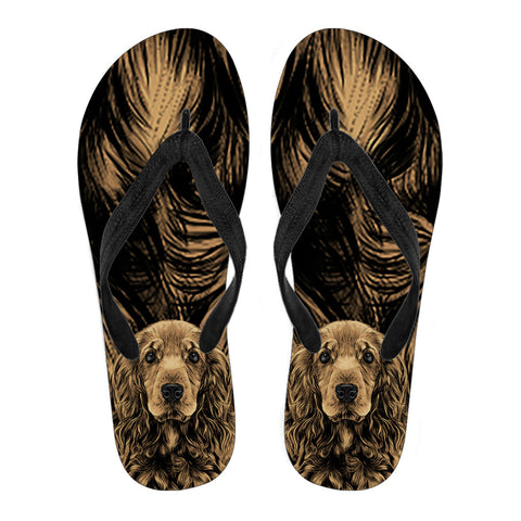Cocker Spaniel Men's Flip Flops