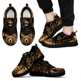 Golden Cocker Spaniel Men's Sneakers