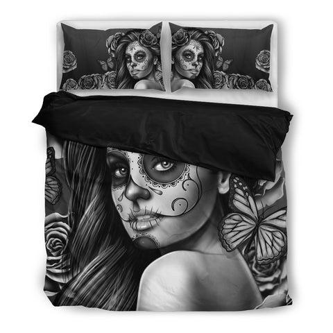 Calavera Collection Premium Duvet Bedding Set