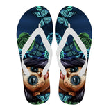 Calavera Collection Flip Flops