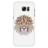 Ethnic Collection Phone Case - Lion - White