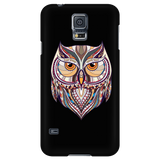 Ethnic Collection Phone Case - Owl - Black