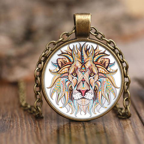 Ethnic Collection Lion Necklace