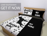 Boxer Dog Premium Duvet Bedding Set