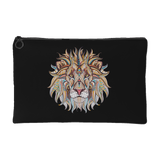 Ethnic Collection Accessory Pouch - Lion - Black