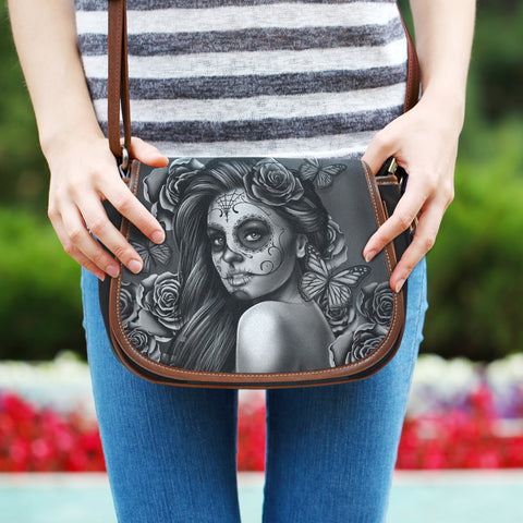 Calavera Collection Saddle Bags