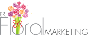 PR Floral Marketing Logo