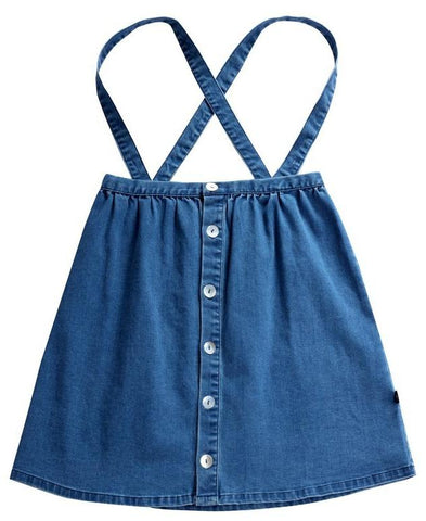 Petit Clair Denim Jumper Skirt