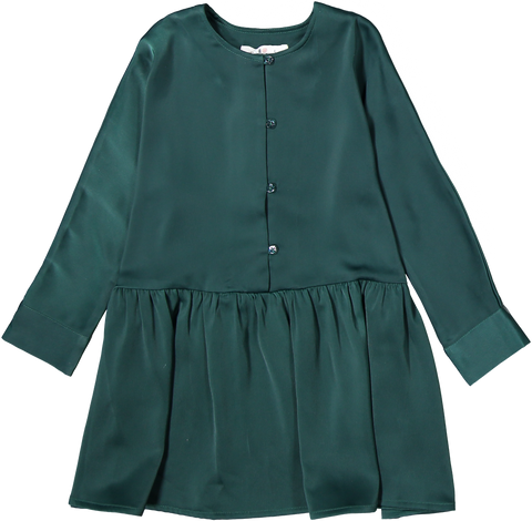 Coco Blanc Swing Dress - Emerald Green