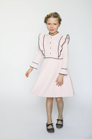 Aisabobo Flutter Dress - Light Pink