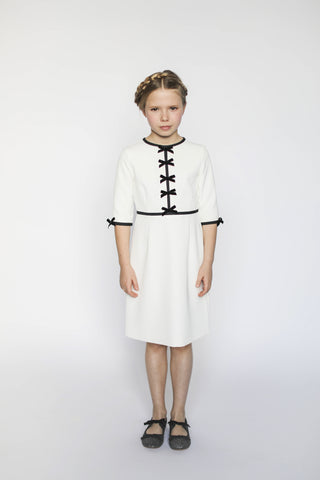 Aisabobo Bow Dress - White
