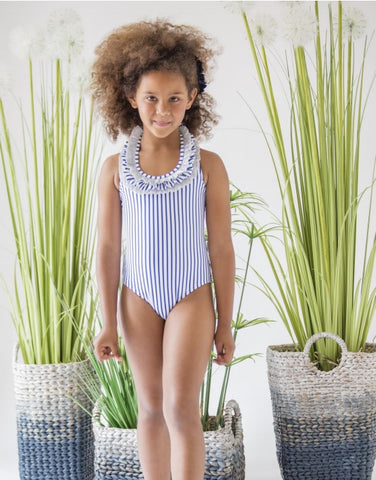 d9e8b2306d442 Nueces Girls One Piece Swimsuit - Maldivas – Mini Me Miami