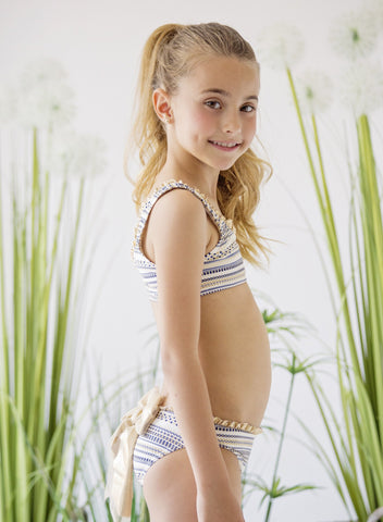 a3de9d05cdcdd Nueces Two Piece Swimsuit - Grecia – Mini Me Miami