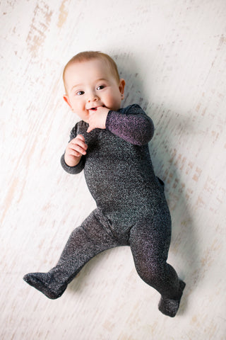 Kipp Sparkly Bodysuit - Black
