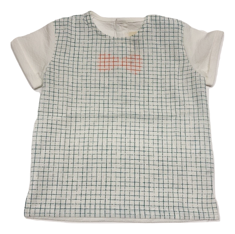 Crew Boys Bow Tie Top - Sage