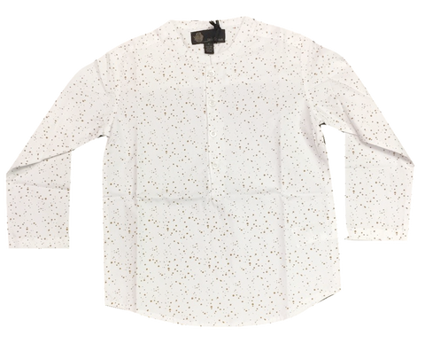 Little Cocoon Speckled Shirt - Mustard