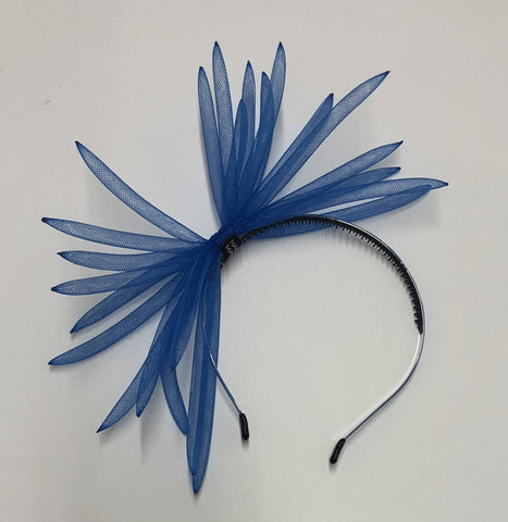 Mini Mrs Spider Headband - Royal Blue