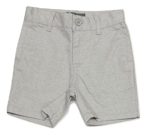 Belati Stretch Bermuda - Light Grey