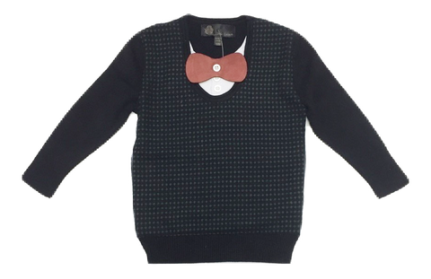 Little Cocoon Dot Crewneck - Green