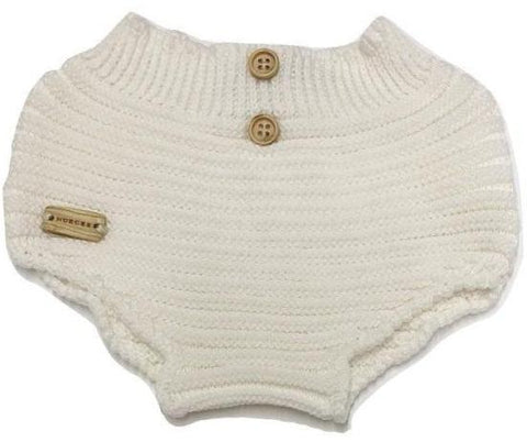 Nueces Knit Bloomers - White