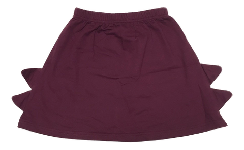 Crew Kids Maroon Triangle Skirt