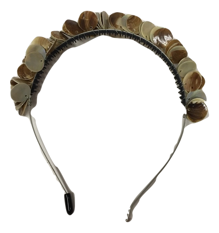 Blinq Shell Headband - Natural