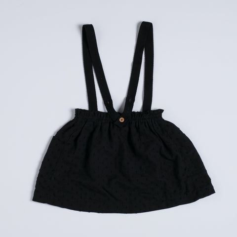 Nixnuit Strap Skirt - Black