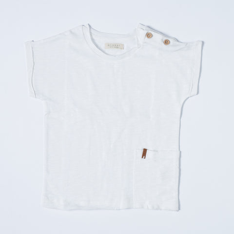 Nixnuit Toddler T-shirt - Off White