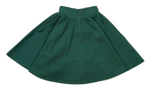 Teela Ponte Circle Skirt - Hunter Green