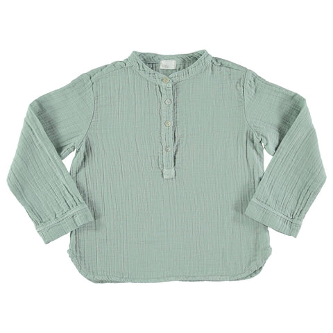 Buho Paul Shirt - Celadon