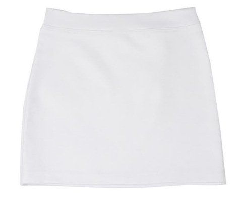 Teela Pencil Skirt - White