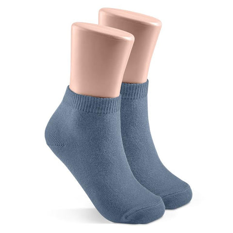 Crew Socks Dusty Blue
