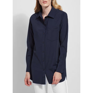 Lysee Schiffer Button Down in Black