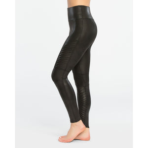Spanx Faux Leather Moto Leggings 20136R