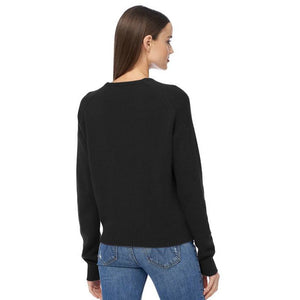 360 Cashmere Cassian Plunging V-Neck Sweater 43156