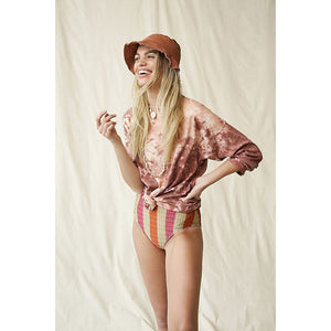 Free People We The Free Tie Dye Long Sleeve Tee