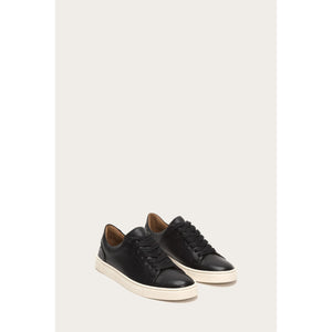 Frye Ivy Low Lace Sneaker in Black 71184