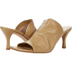 Free People Cara Square Toe Heel in Camel