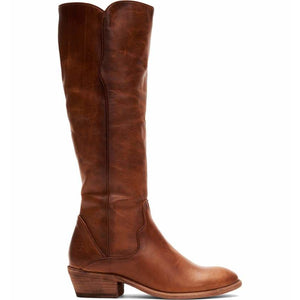 Frye Carson Piping Tall Boot in Caramel 3470357