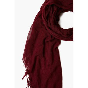 Chan Luu Spice Wine Cashmere And Silk Scarf BRH-SC-140-SPICED-WINE