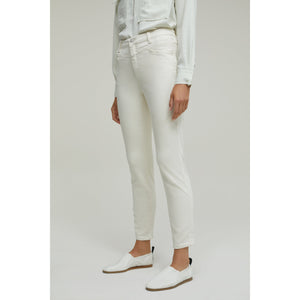 Closed A Better Blue Skinny Pusher in Creme C91231-08R-2I