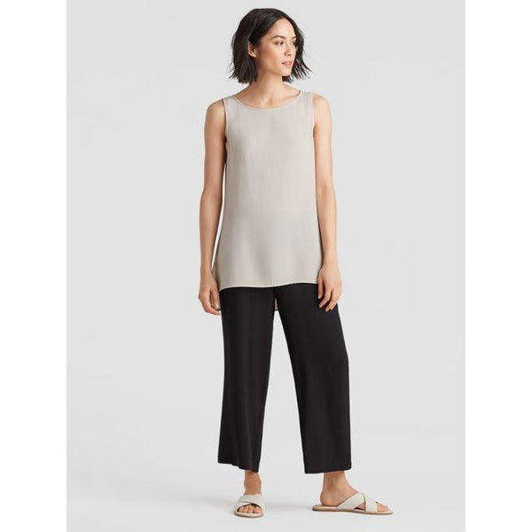 Eileen Fisher Silk Georgette Crepe System Long Shell EEGC-U1956
